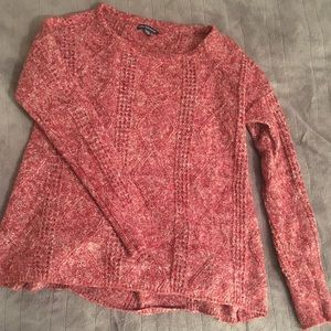 Red American Eagle Knit Sweater